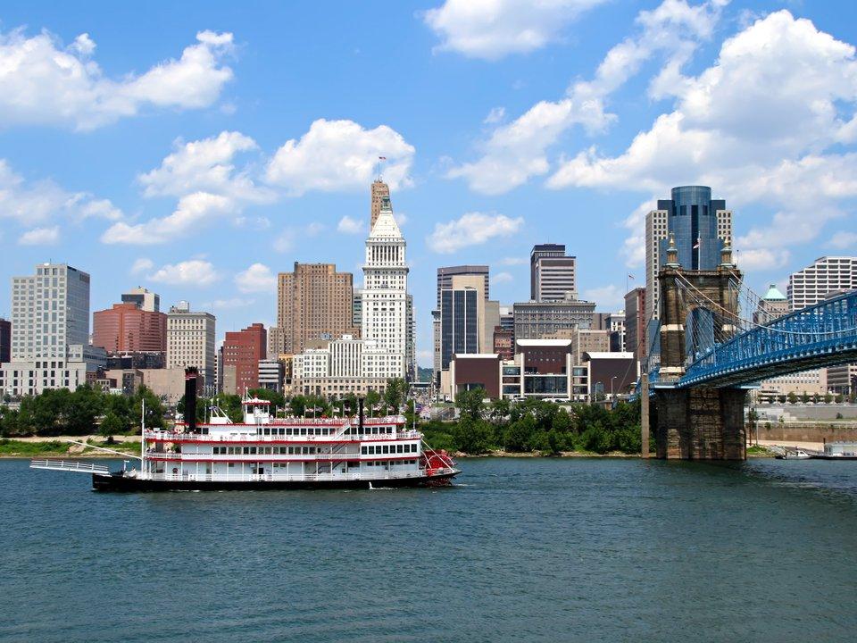 Lennot Cincinnatiin edullisemmin netistä.