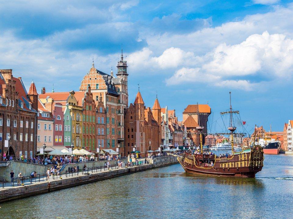 Lennot Gdanskiin edullisemmin netistä.
