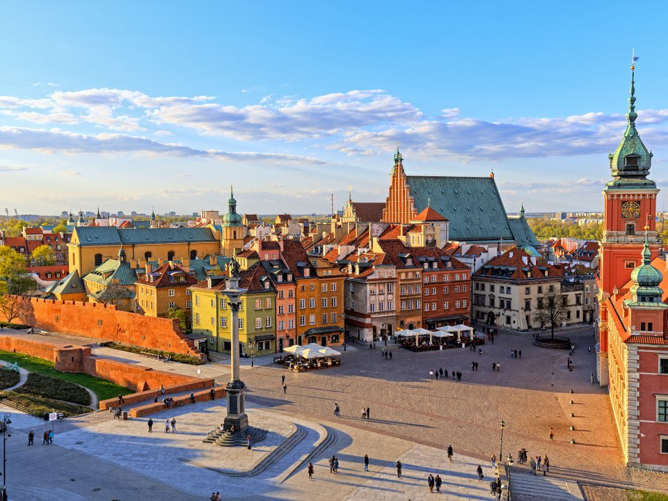 Lennot Varsovaan edullisemmin netistä.